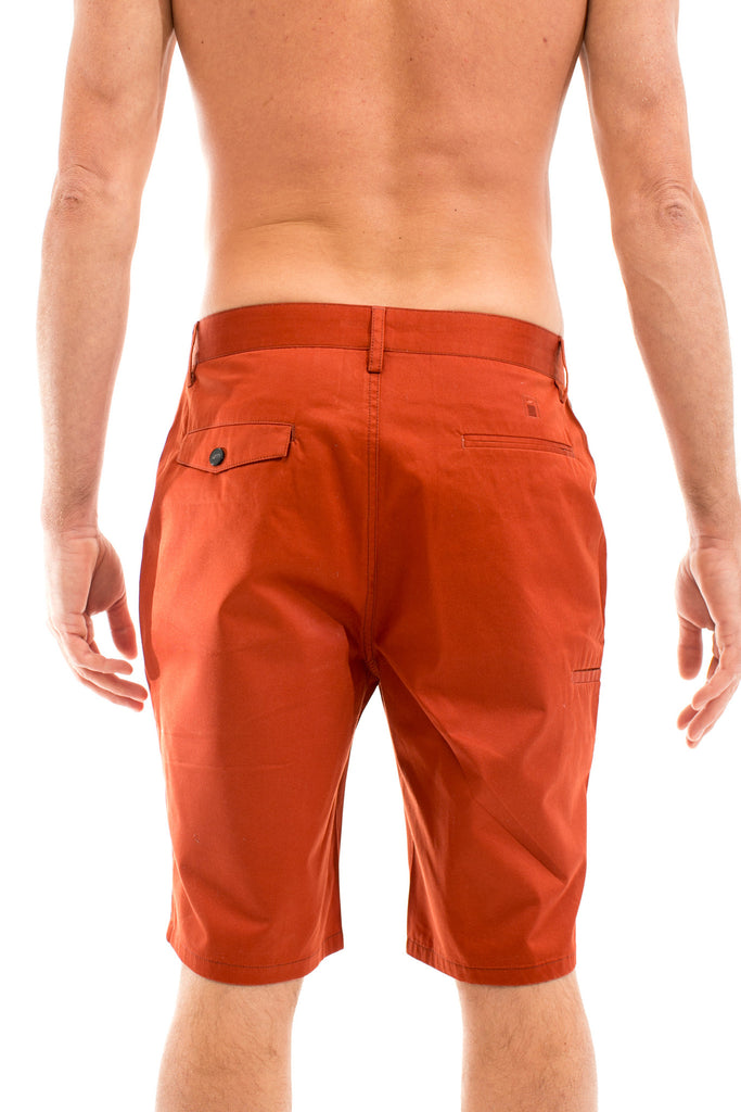 Jetty - Modern Shorts- Rust