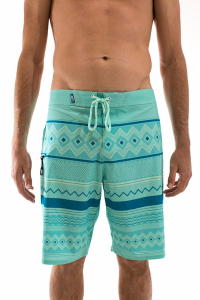 Poncho Mint Boardshorts - Jetty - 1
