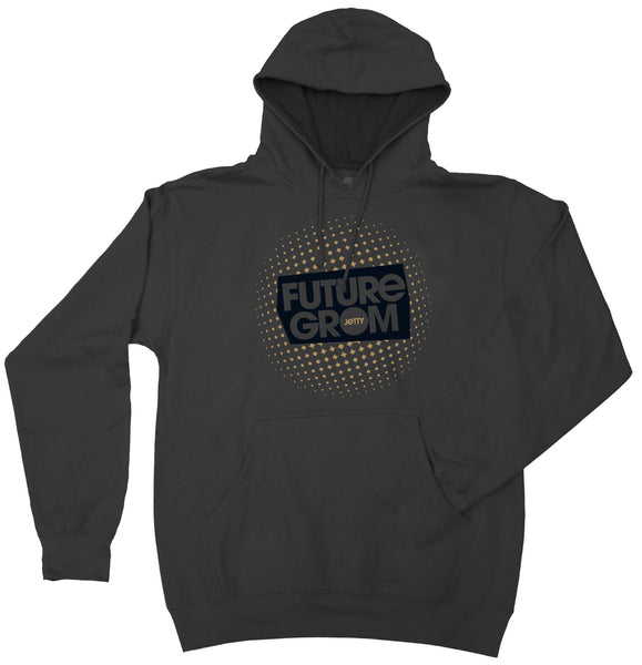 Tot Future Grom Charcoal Hoodie - Jetty