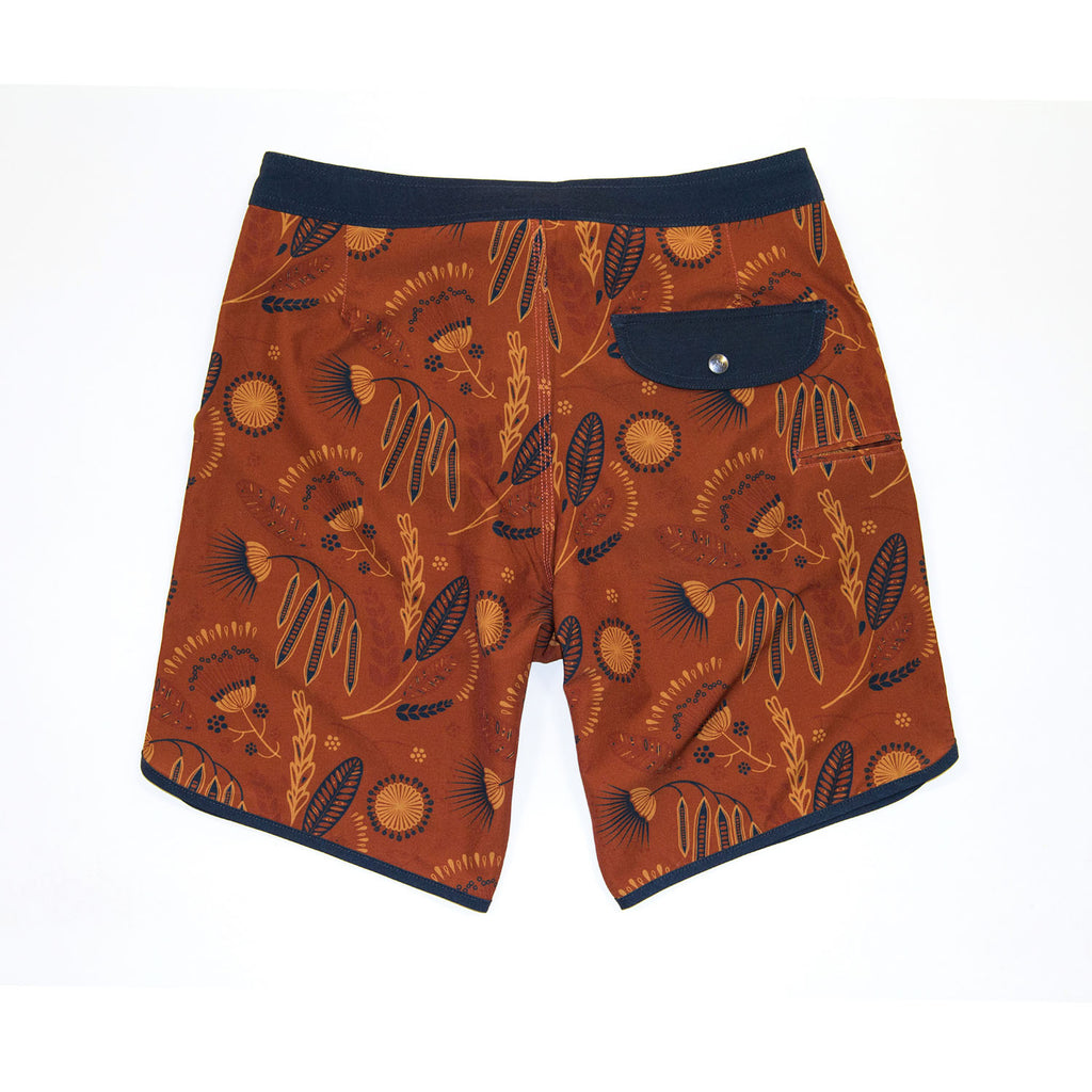 Jetty - Mimosa Boardshorts- Rust
