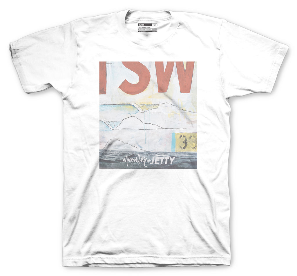 Jetty - David Macomber Tee- White