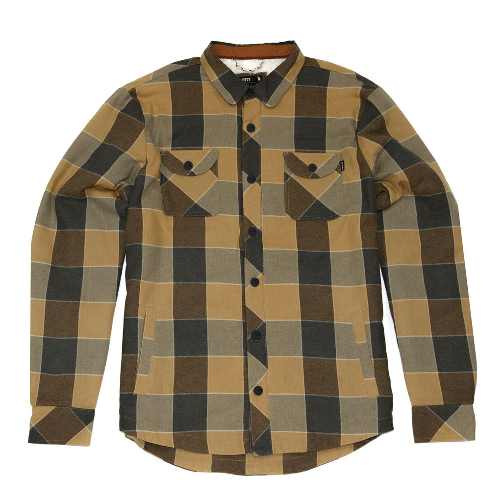 Duke Sherpa Flannel- Copper