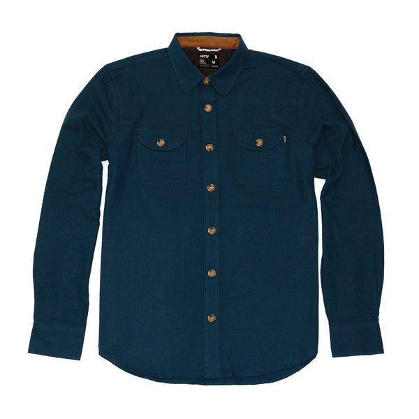 Breaker Fleece Woven- Navy