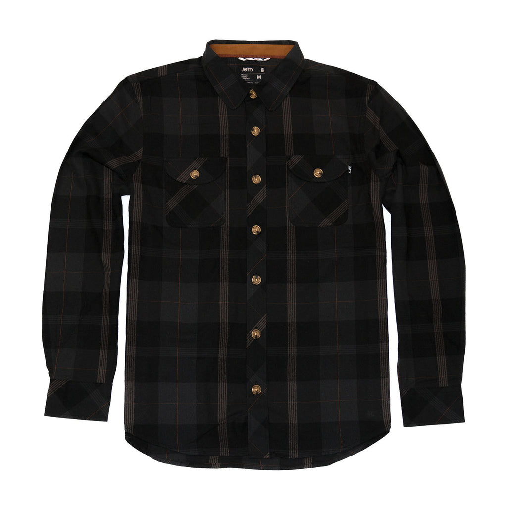 Snake Eyes Flannel- Black