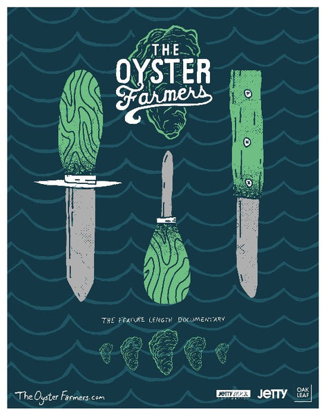 Oyster Farmers Poster