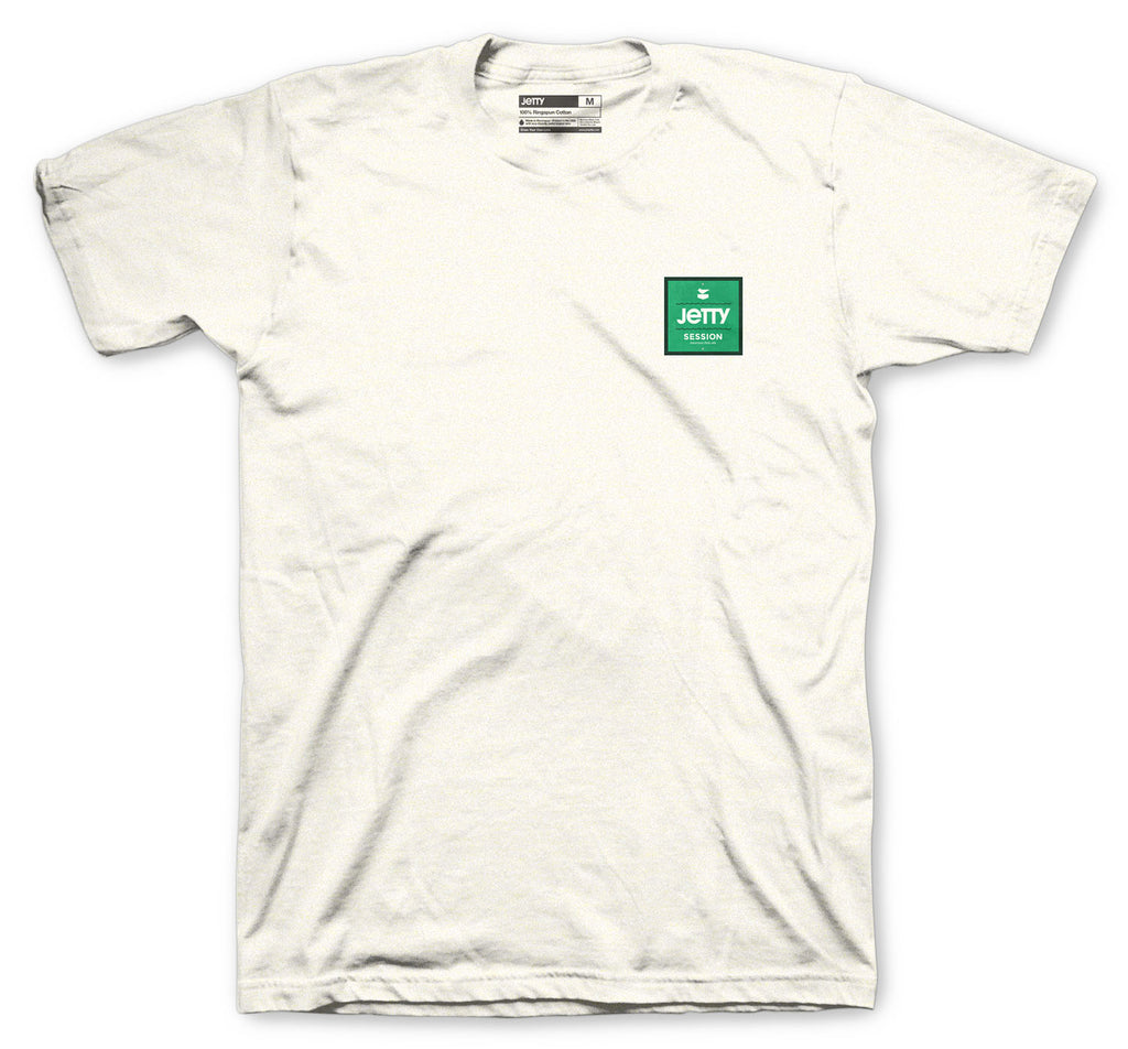 Session Marker Tee - Oatmeal