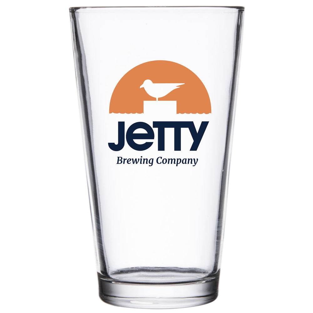 Jetty Brewing Co. Pint Glass
