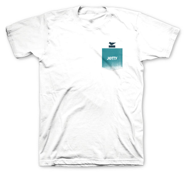 Otis Pocket Tee- White
