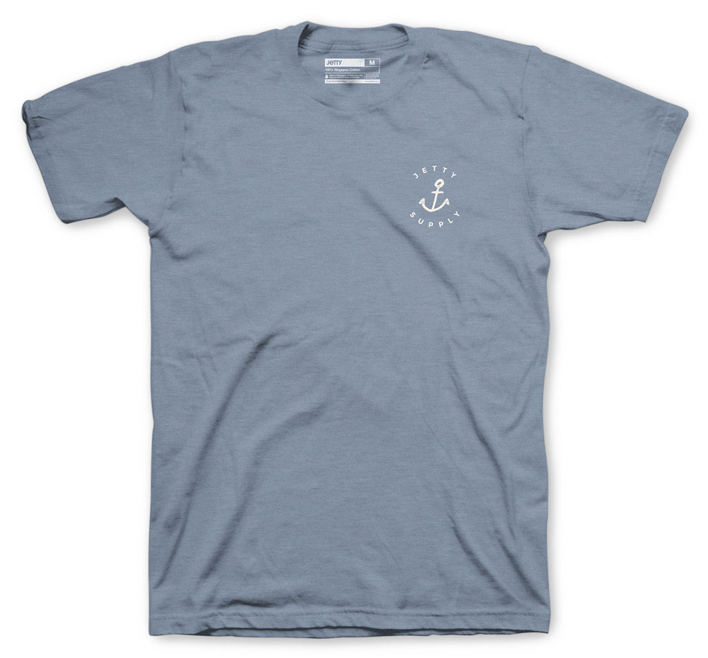 Jetty - Hold Fast Tee- Blue