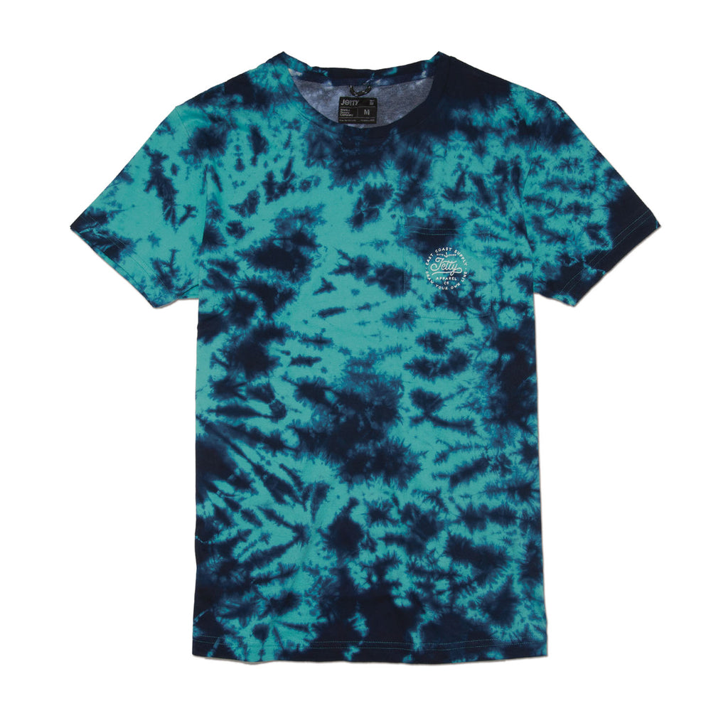 Jetty - Algae Pocket Tee- Teal