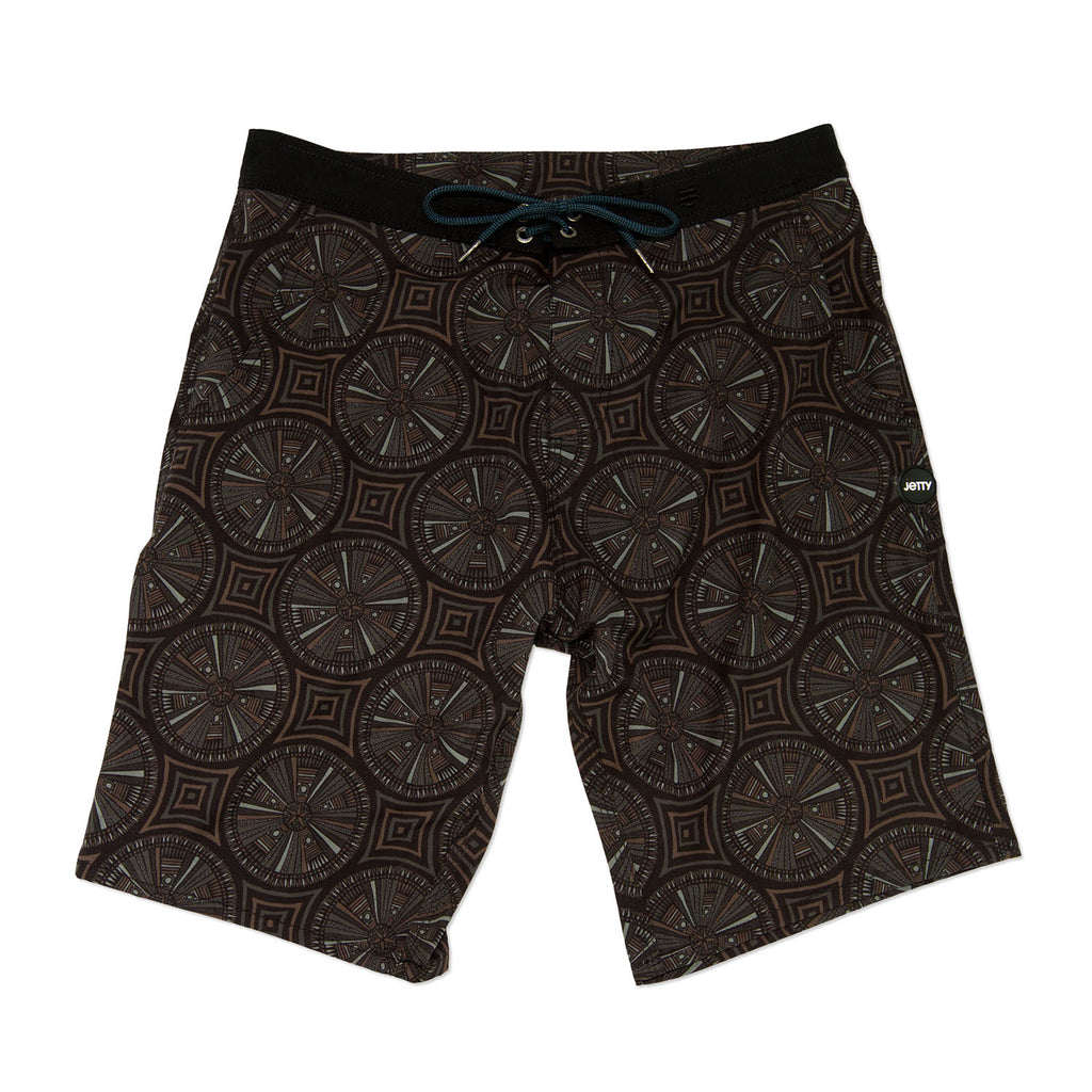Jetty - Chambers Hybrid Boardshorts - Black