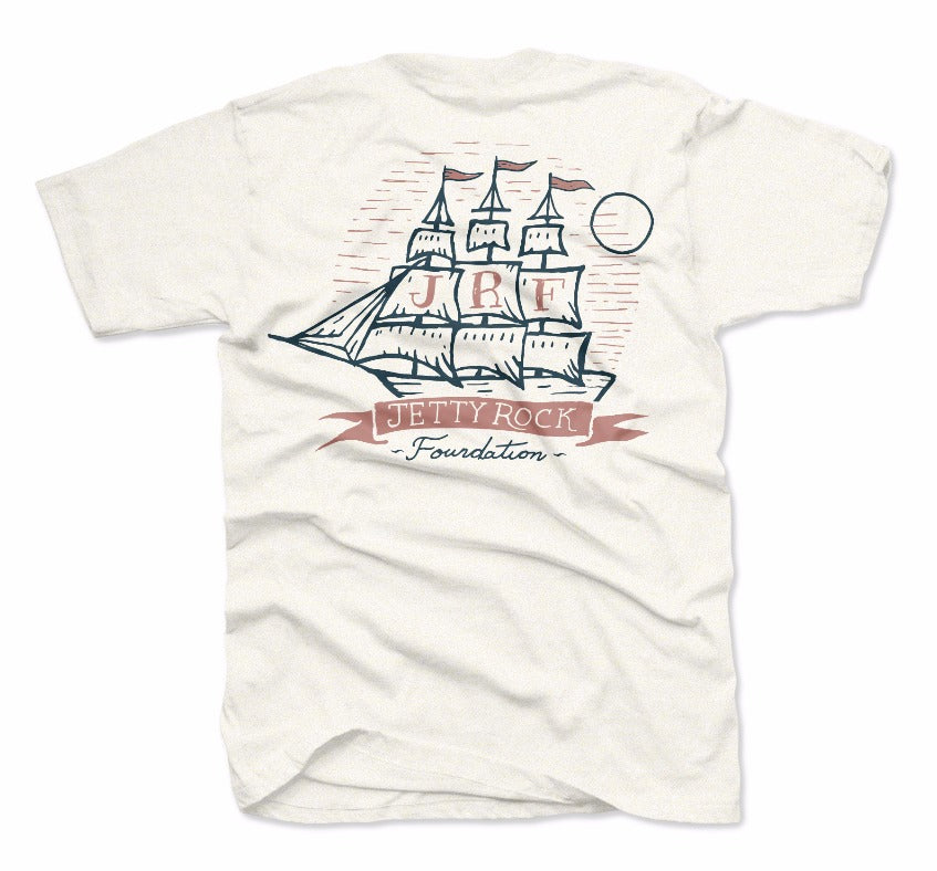 Jetty - JRF Future Leaders Smooth Sailing Tee - Oatmeal