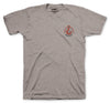 Hook Tee - Heather Grey