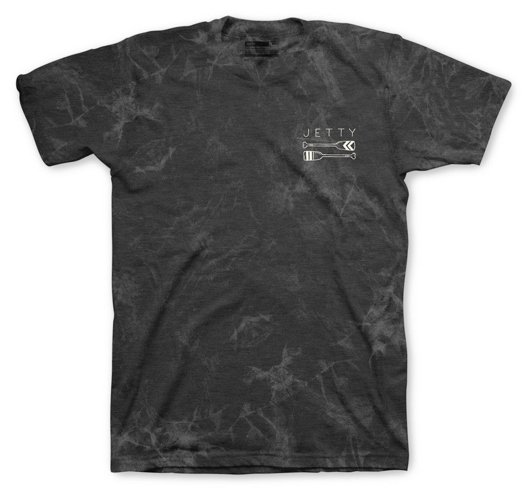 Jetty - Oarsman Tee - Black Mineral Wash