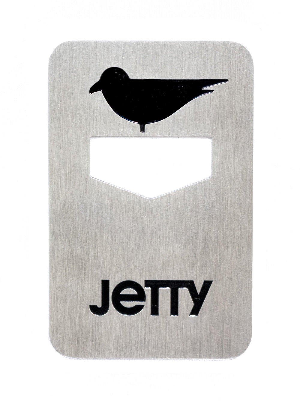 Jetty Icon Bottle Opener- Silver