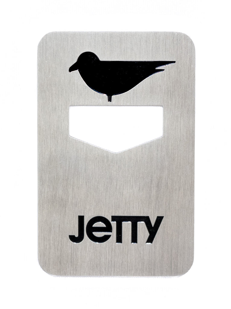 Jetty - Jetty Icon Bottle Opener- Silver