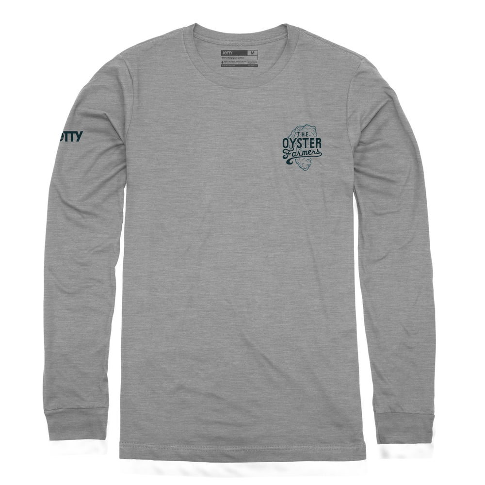 Oyster Farmers LST- Dark Heather Grey