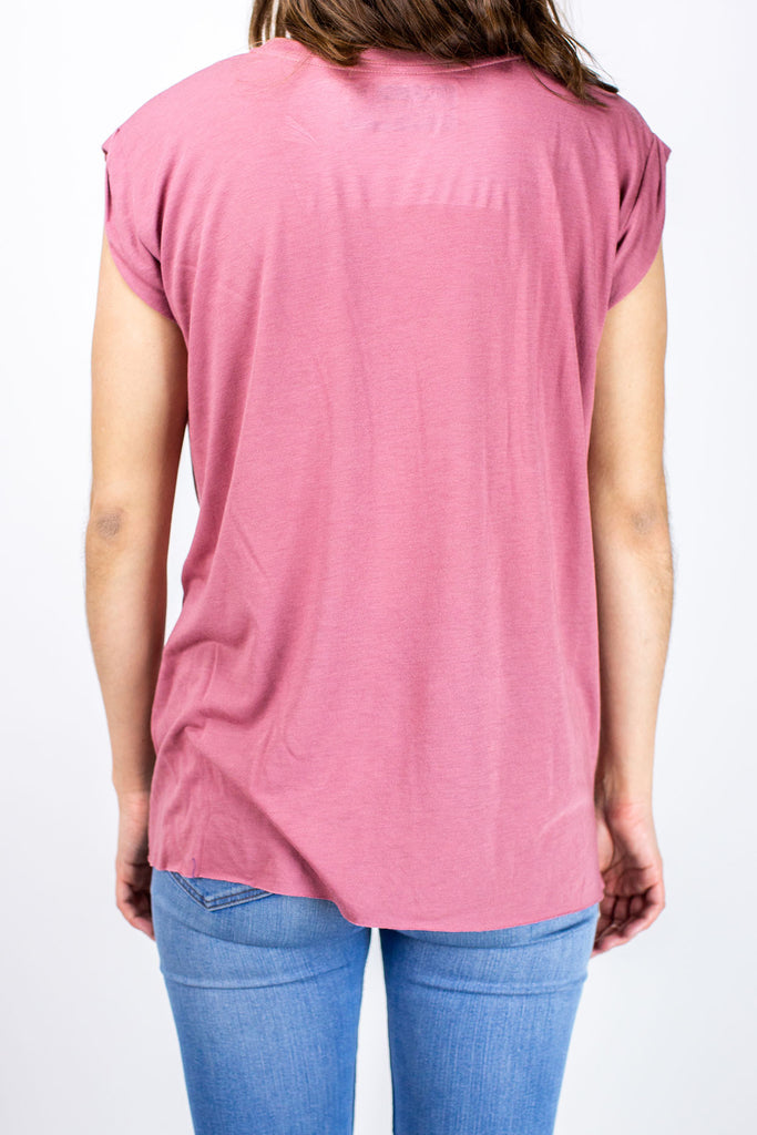 Womens Hold Fast Tee- Mauve