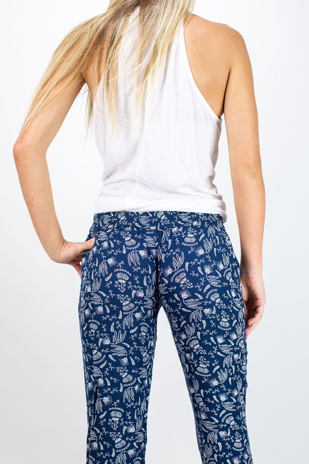 Jetty - Beach Bum Pants- Navy