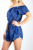 Sail Away Romper- Navy