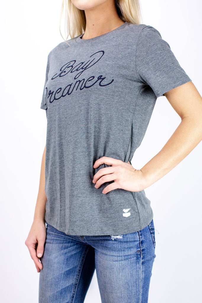 Jetty - Bay Dreamer Tee - Charcoal