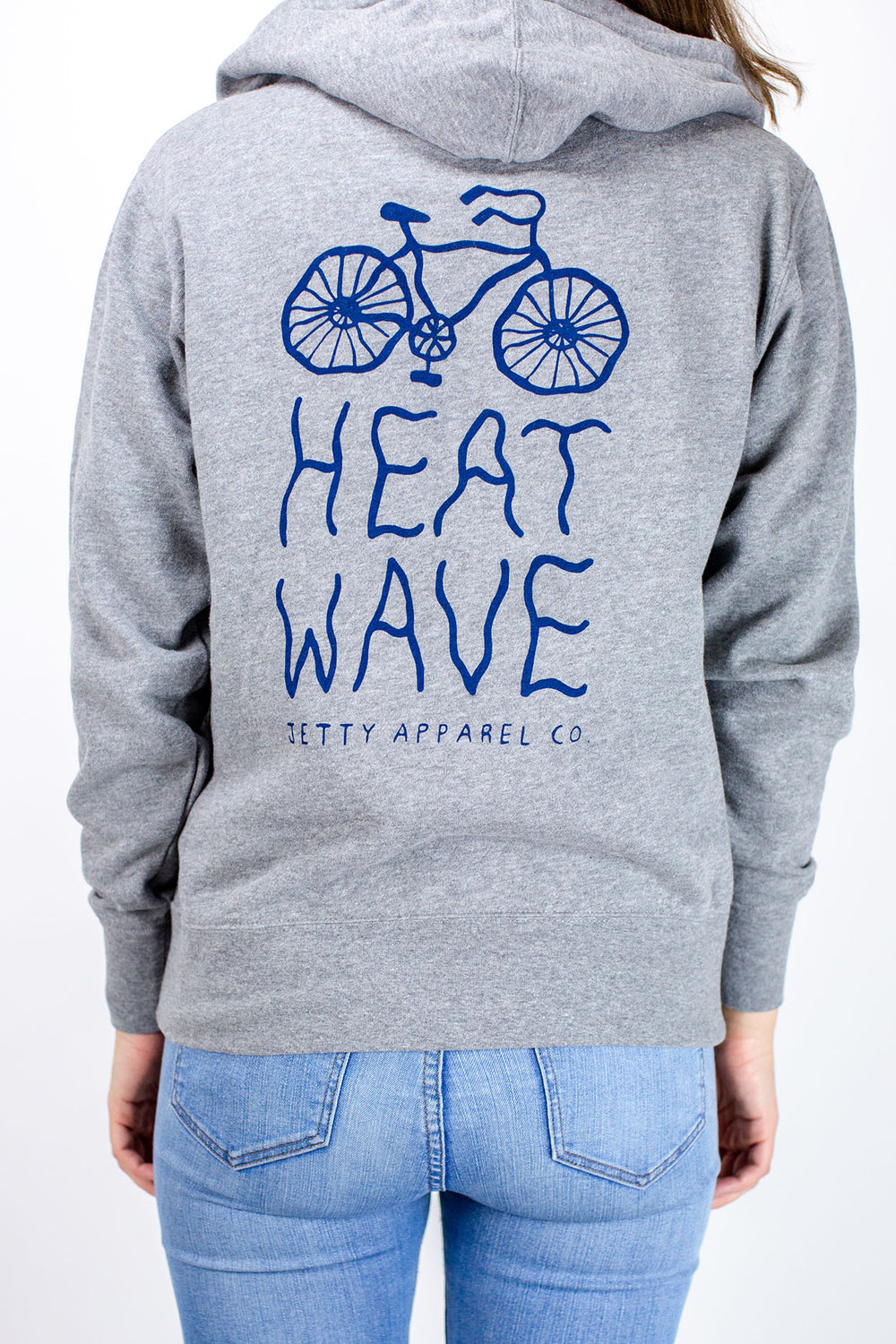 Heat Wave Zippy - Heather Grey