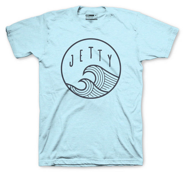 Grom Sunswell Tee- Light Blue
