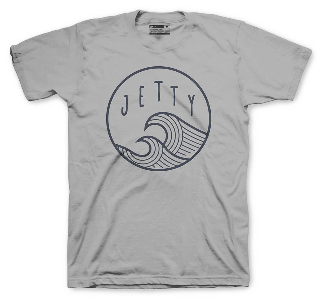Jetty - Grom Sun Swell Solar Shirt- Grey