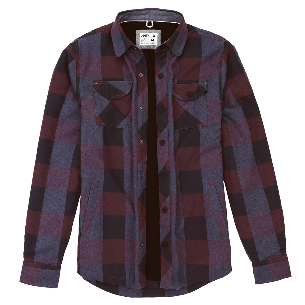 Jetty - Terrace Polar Fleece Flannel - Mauve