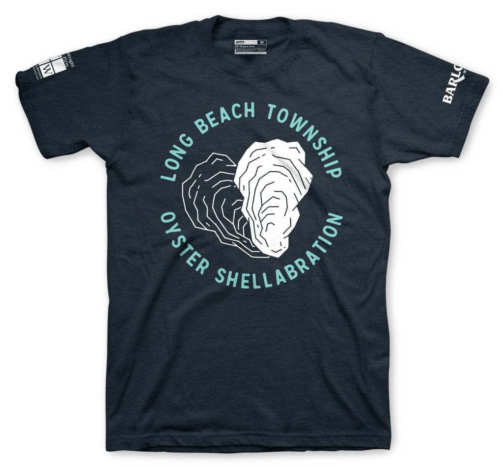 Jetty - Shellabration Tee- Navy
