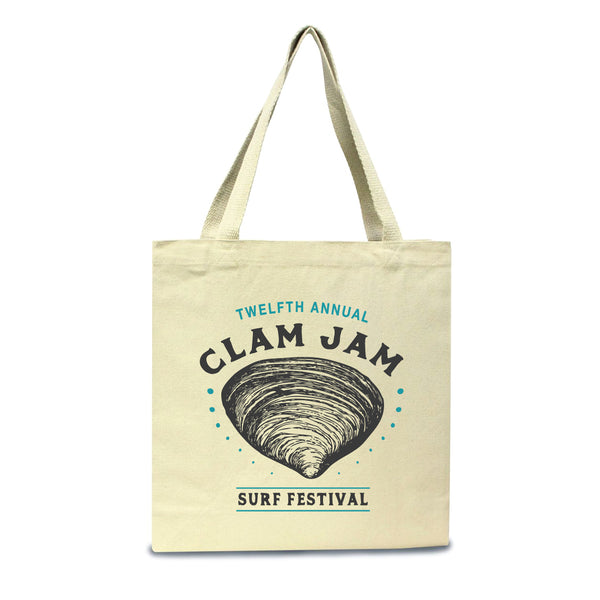 2018 Clam Jam Tote Bag