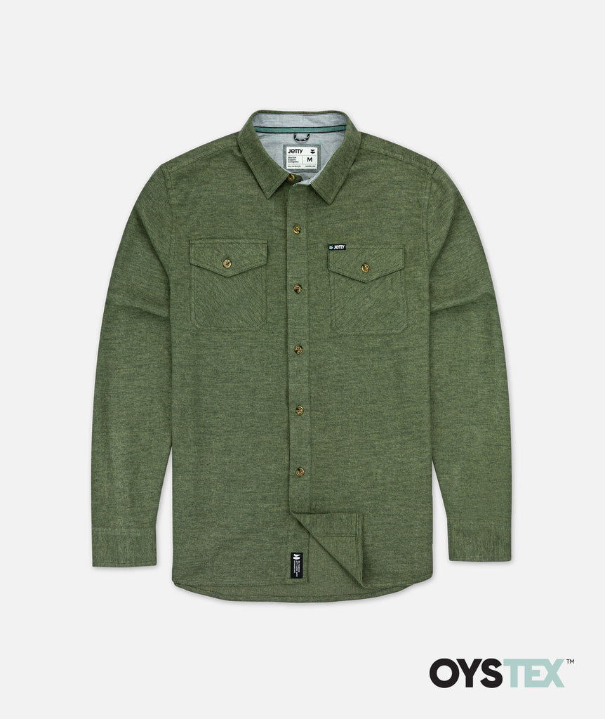 Essex Twill Shirt - Olive