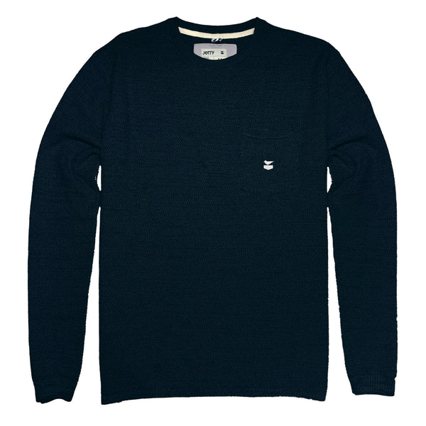 Brine Sweater- Navy