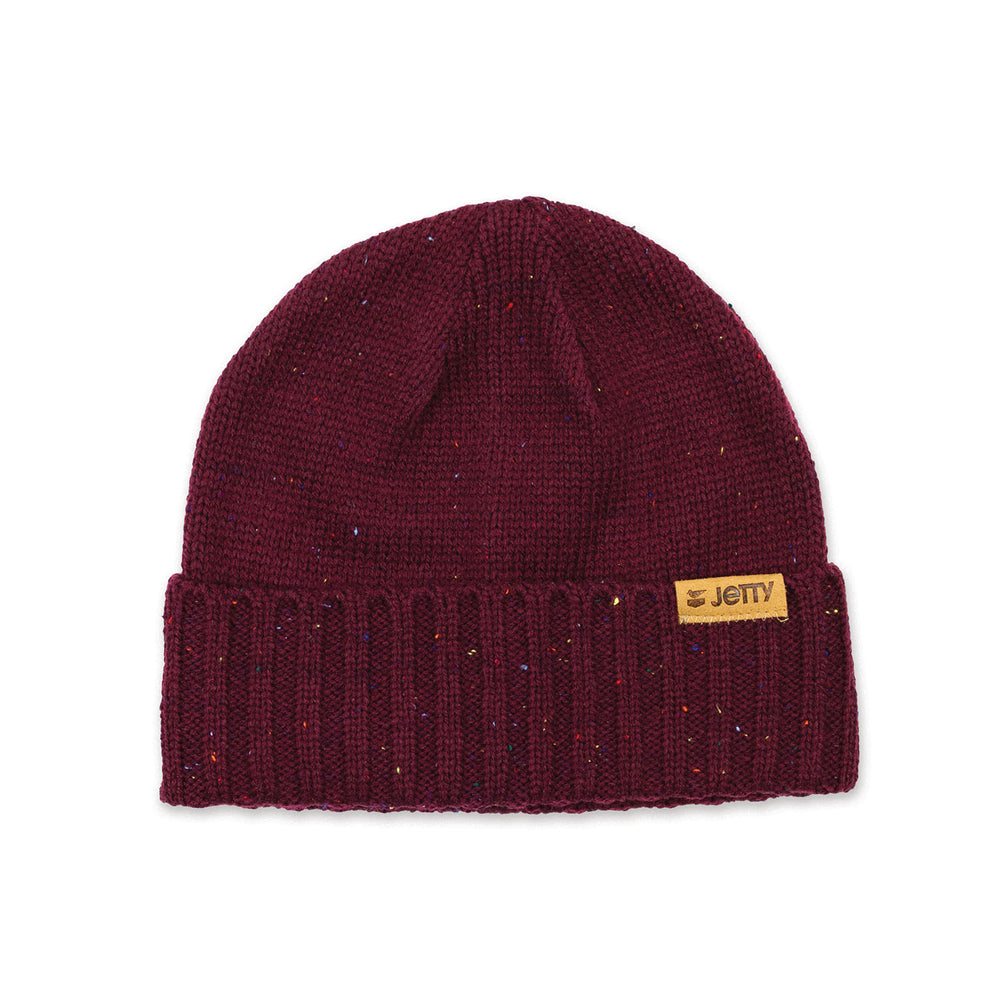 Jetty - Lookout Beanie- Burgundy