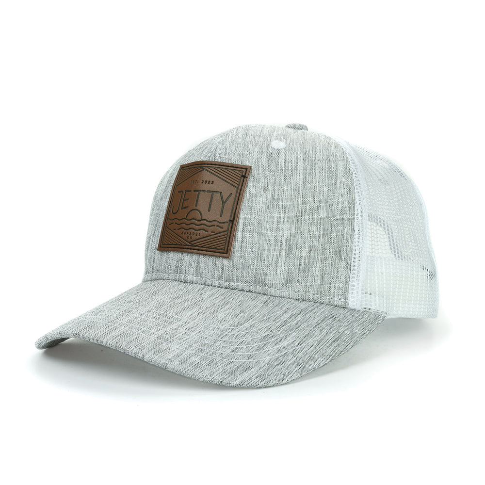 Jetty - Ogledtree Trucker - Heather Grey