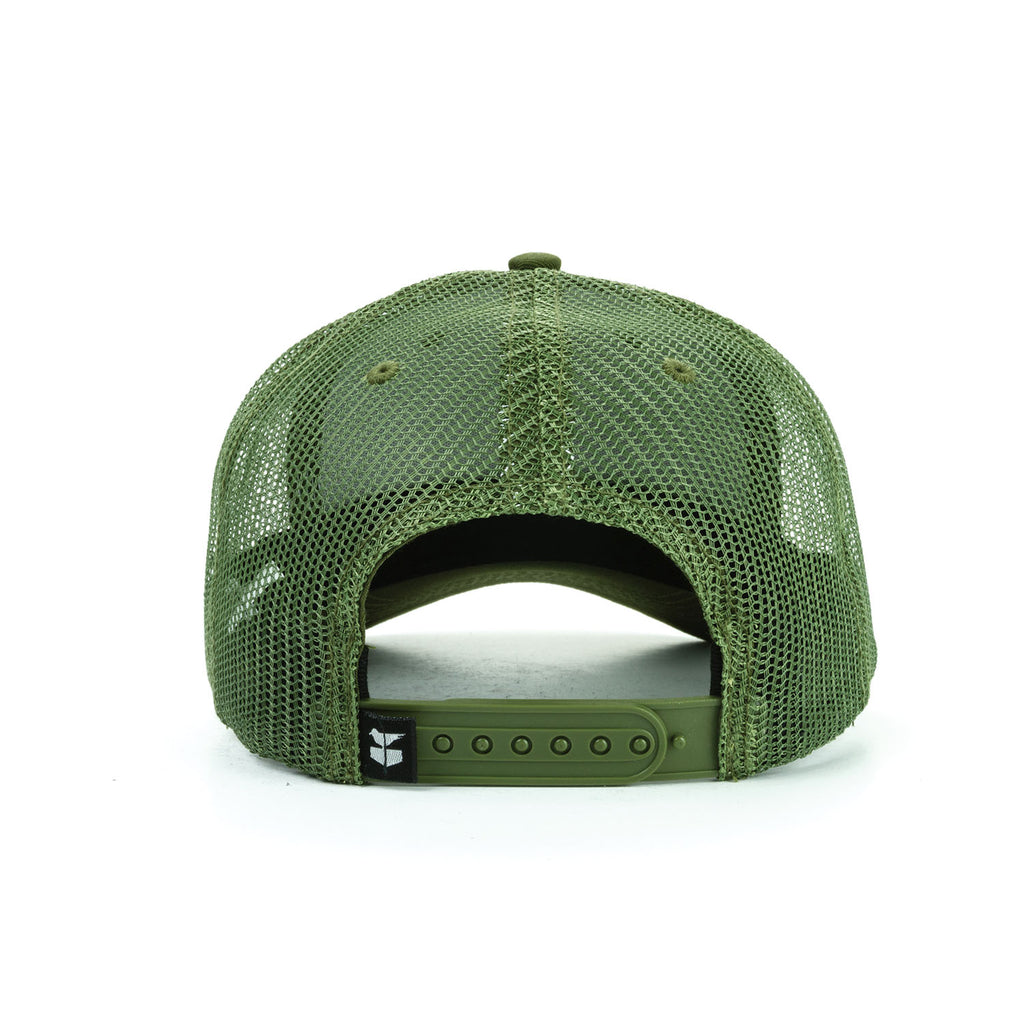 Larry Key Trucker - Olive