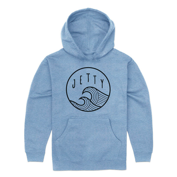 Grom Sunswell Hoodie- Light Blue