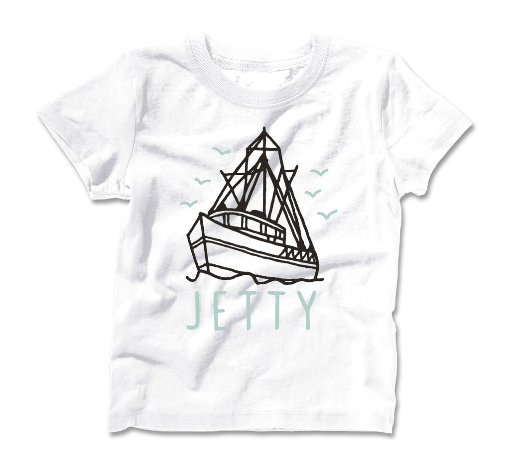 Jetty - Tot Victory Tee- White
