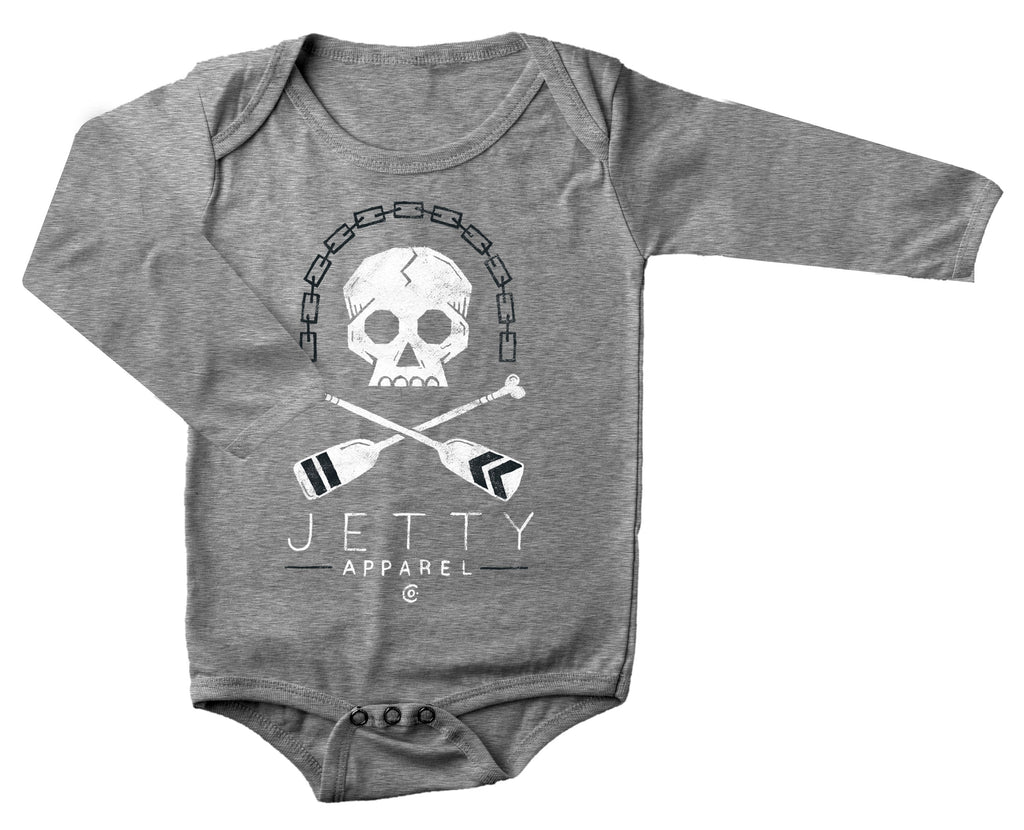Jetty - Mini Oarsmen LST Jumper- Heather Grey