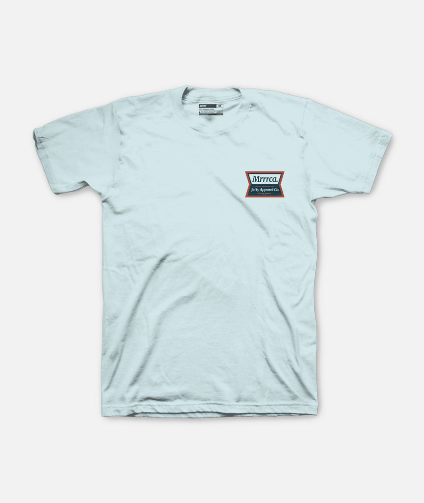 Mrrrca Tee - Light Blue