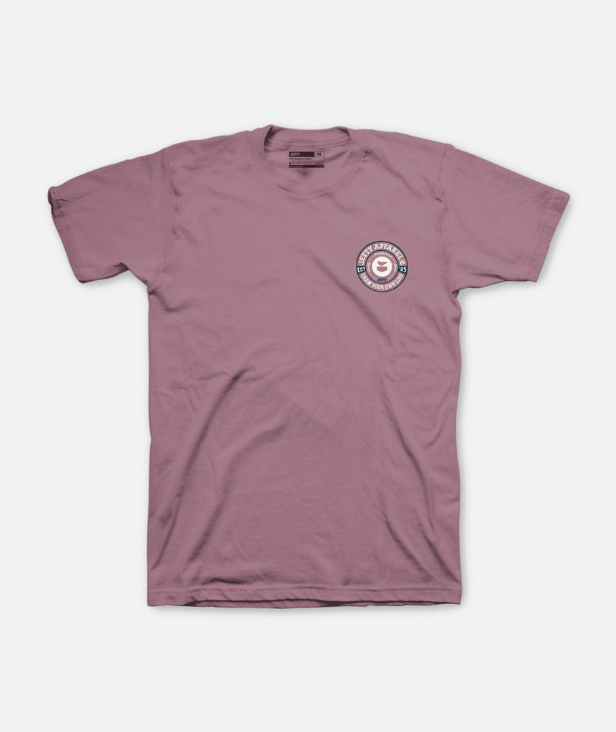 Jetty - Rivet Tee - Mauve