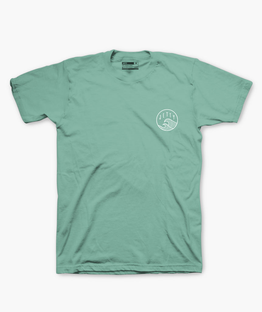 Jetty - Sun Swell Tee - Mint
