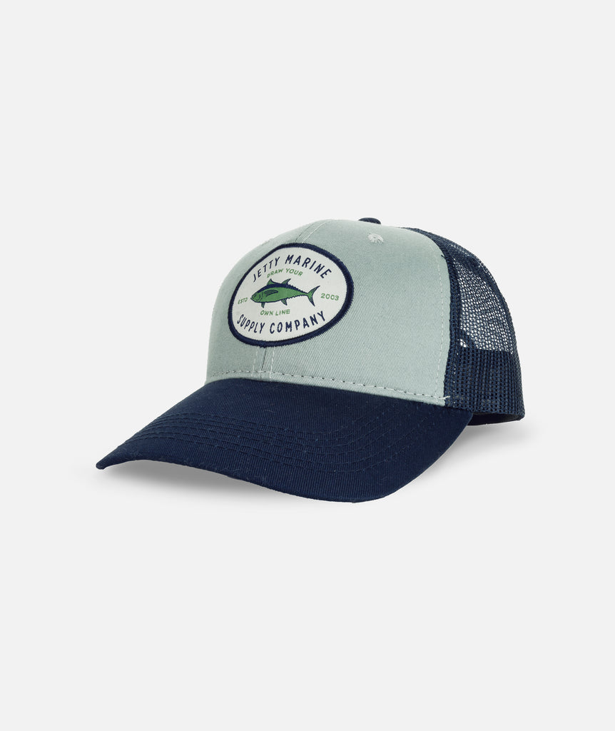 Jetty - Ahi Trucker- Light Blue