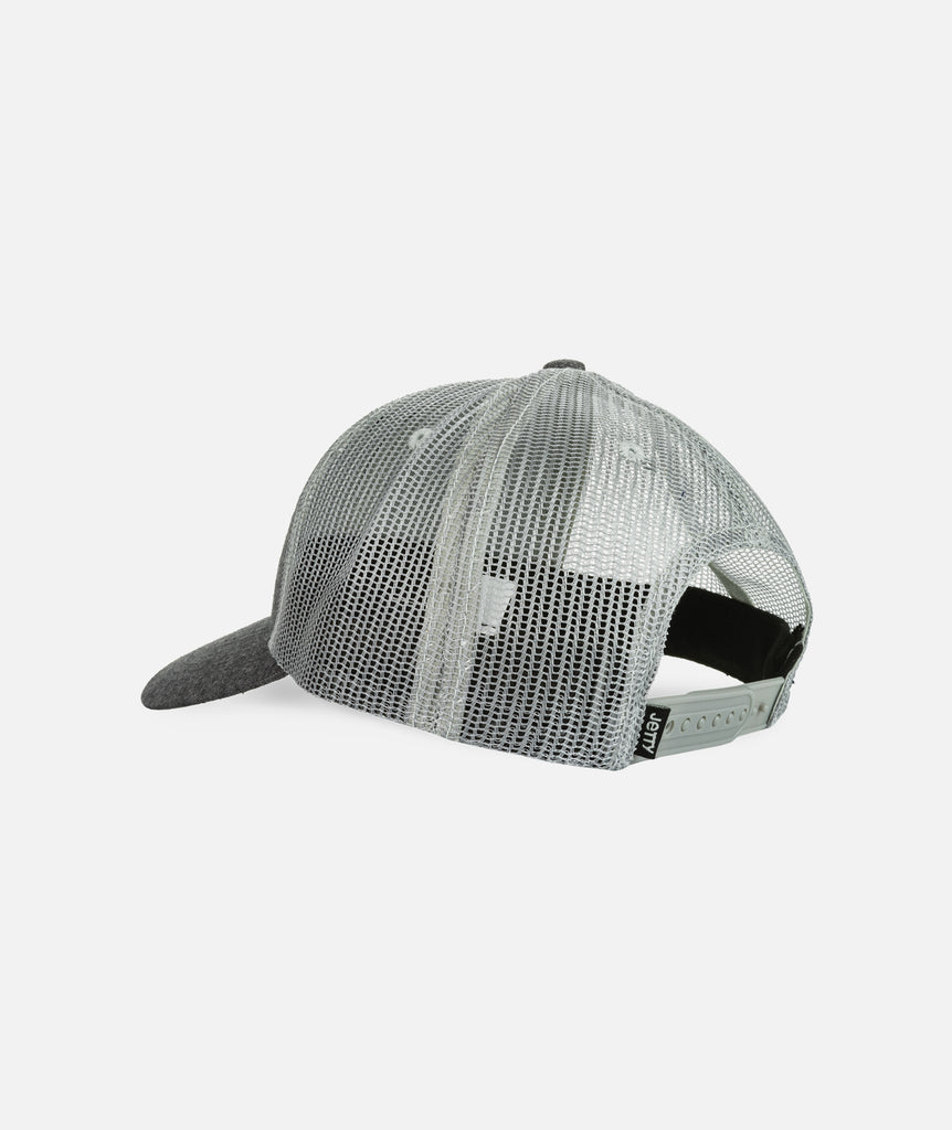 Piling Trucker- Charcoal