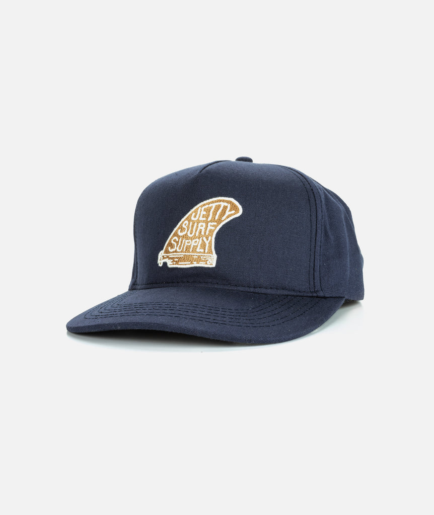 Jetty - Single Fin Hat- Navy