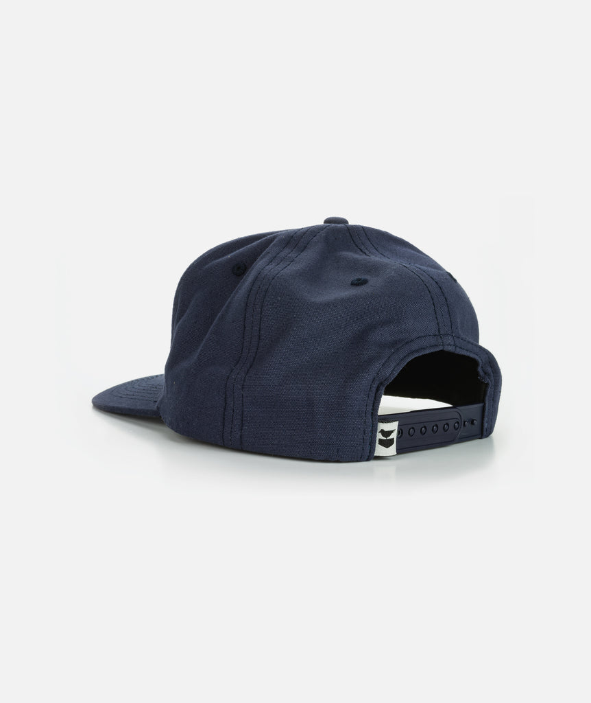 Single Fin Hat- Navy