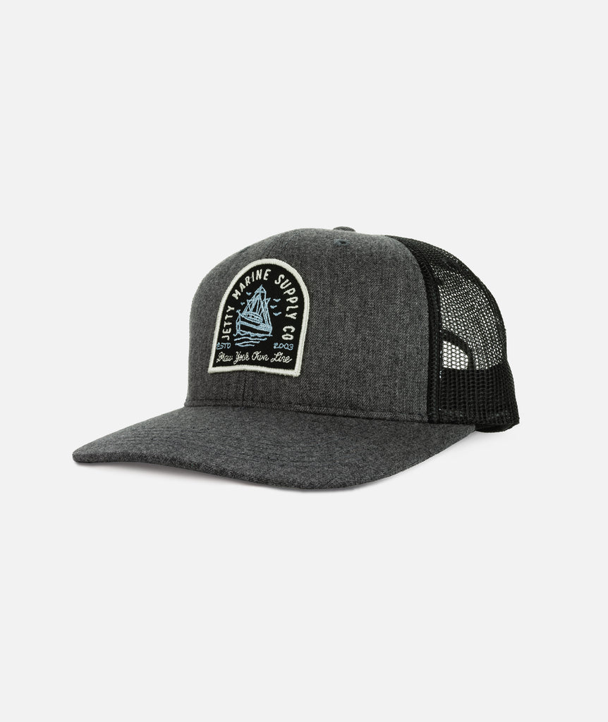 Jetty - SS Victory Trucker- Charcoal