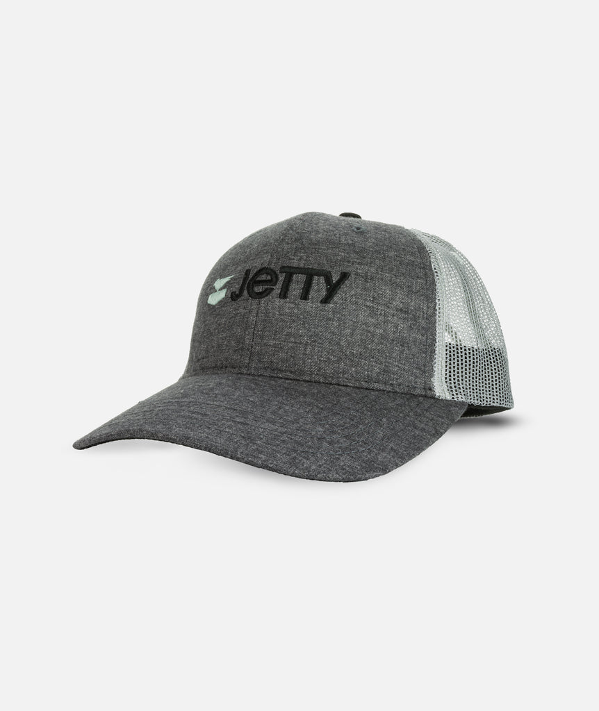 Jetty - Starboard Otis Snapback- Heather Grey