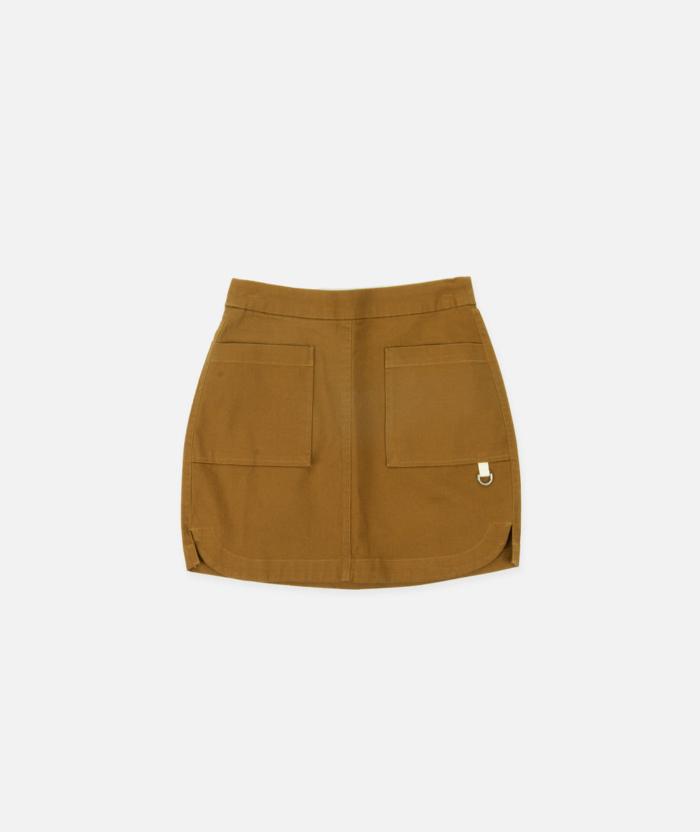 Westport Mini-Skirt- Copper