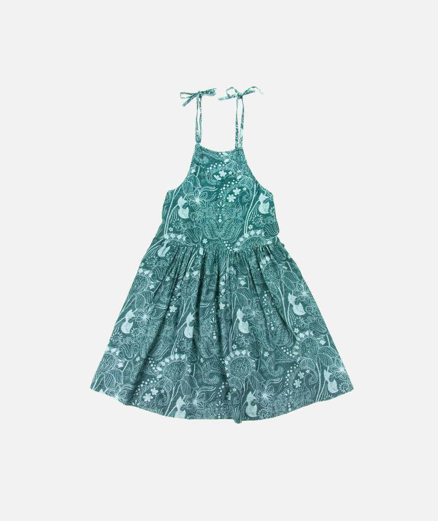 Jetty - Newport Dress- Teal